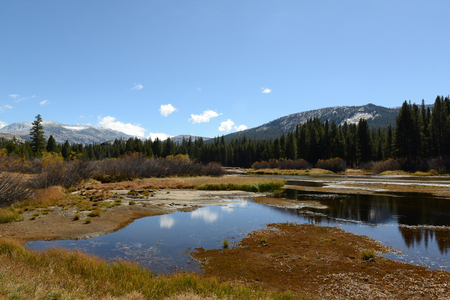Vue de paysage de paysage du parc national de Yosemite Banque d'images - 85175877