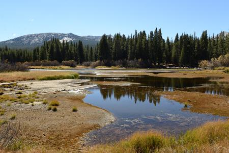 Vue de paysage de paysage du parc national de Yosemite Banque d'images - 85175878
