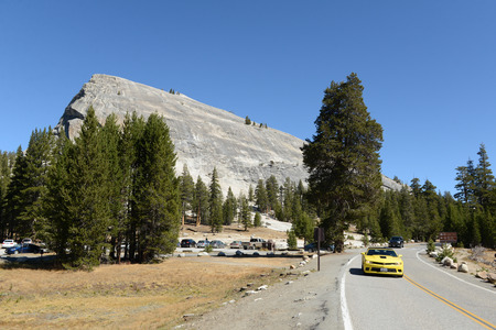 Vue de paysage de paysage du parc national de Yosemite Banque d'images - 85175881