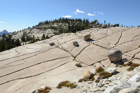 ヨセミテ国立公園の景観の風景 写真素材