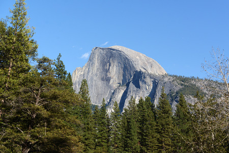 Yosemite National Park landscape scenery view