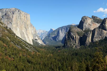 sierra nevada: Yosemite National Park Stock Photo