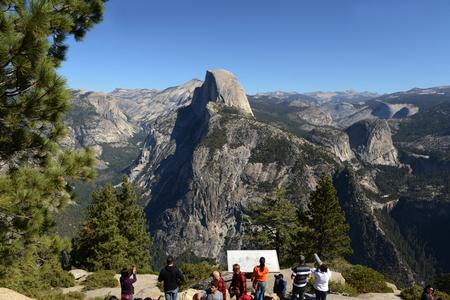 Vue de paysage de paysage du parc national de Yosemite Banque d'images - 85152876