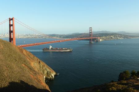 View of Golden Gate Bridge Фото со стока