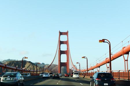 View on Golden Gate Bridge Banque d'images - 105248295
