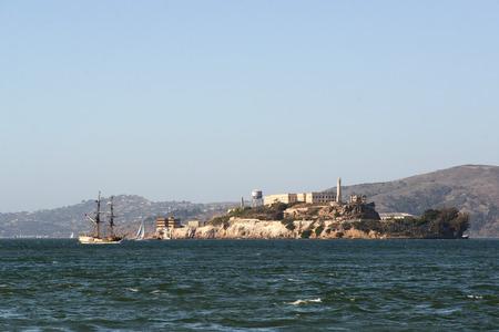View of Alcatraz island Banque d'images - 105205039