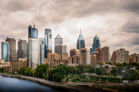 Urban landscape of Philadelphia Editorial