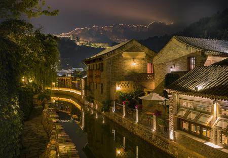 万里の長城の足 写真素材