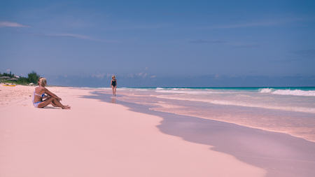 The Pink Beach of the Bahamas