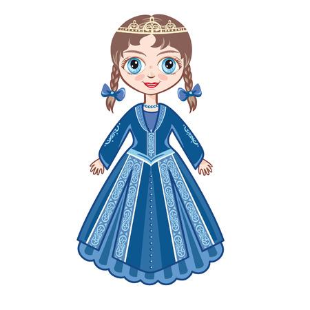 little princess: The little Princess in a black ball dress