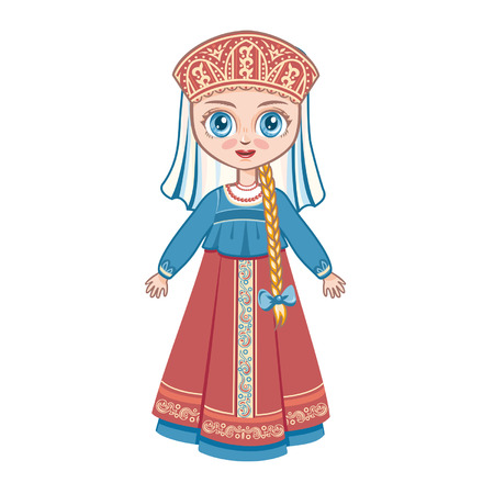 suit skirt: The girl in the Russian suit. Historical clothes