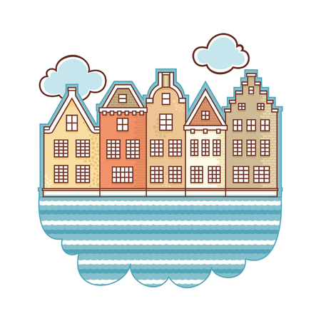 Netherlands. Layout for souvenirs.