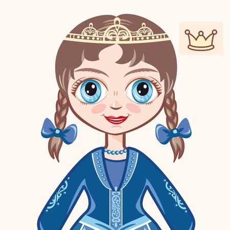 little princess: little Princess. Portrait. Avatar.