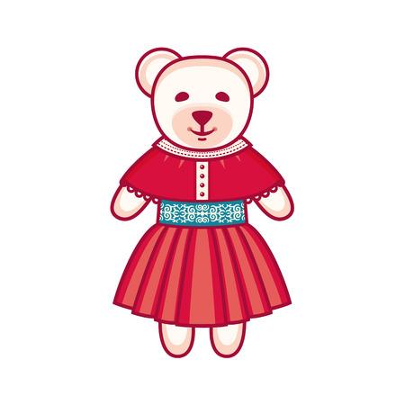 cute bear: Cute bear. Vector illustration