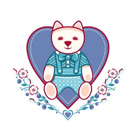 cute: cute dog Illustration