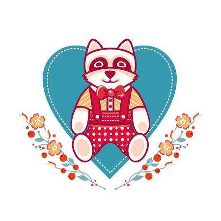 raccoon: Cute Raccoon icon design.