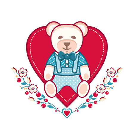 cute bear: Cute bear icon design. Illustration