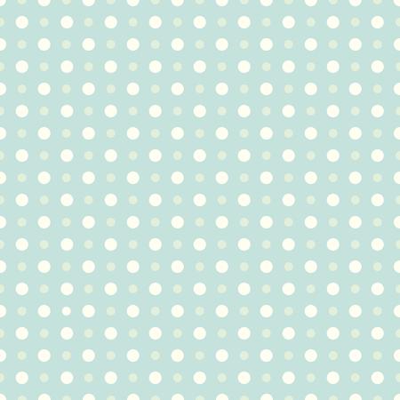 Modelo inconsútil de puntos. Dot patrón de fondo. Estilo retro. Ilustración de vector