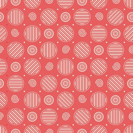 striped band: Geometric seamless pattern.