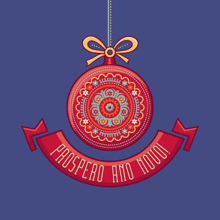 joyeux: Christmas ornament. Xmas ornament. Christmas background. Xmas background. Christmas background with decoration. Illustration