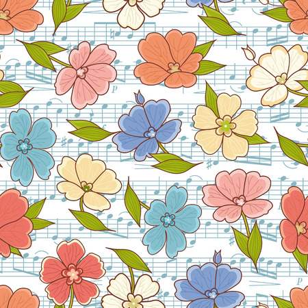 A Seamless floral pattern. Best for greeting card