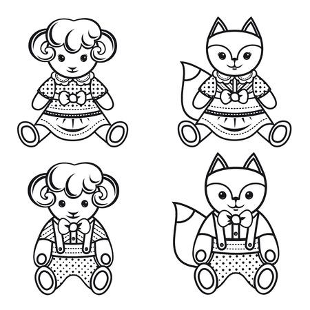 Kid Cute Pet Vector Illustration