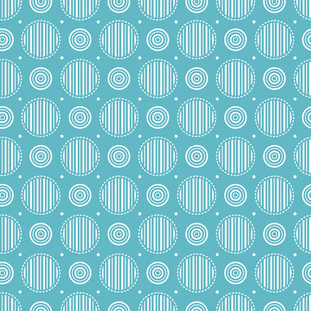 Geometric seamless pattern. Vector illustration. Best for packing paper.