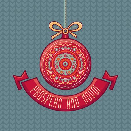 joyeux: Nativity message. Original vector drawing. Happy new year illustration. Elegant winter background. Christmas and New Year. Illustration