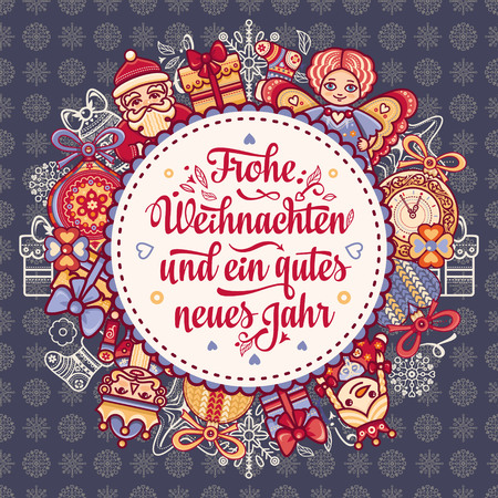 Happy Christmas in Deutschland.