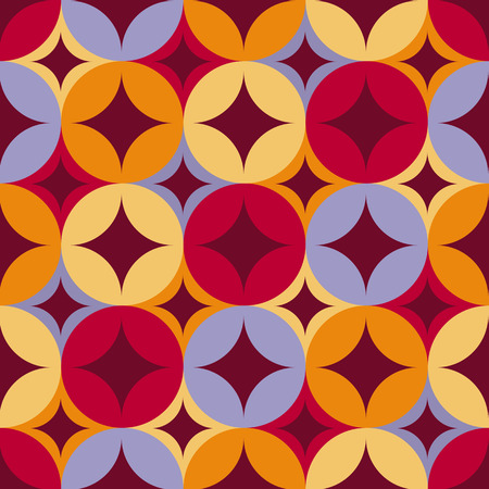 Abstract geometric seamless pattern. Vector illustration. Tile