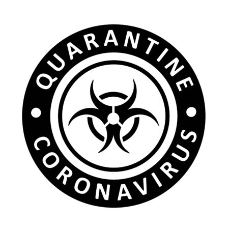 Coronavirus virus Covid-19 Cell Icon 2019-nCoV Novel Coronavirus Virus. Quarantine No Infection and Stop Coronavirus Concepts. Dangerous Coronovirus Cell SARS for volunteers Quarantine No Panic