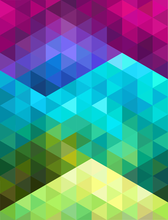 Abstract colorful geometric background. Vector illustration.