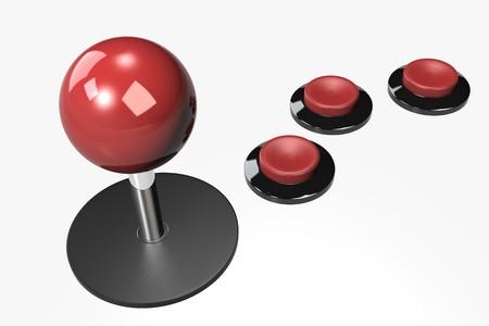 joystick: The Joystick with 3 buttons