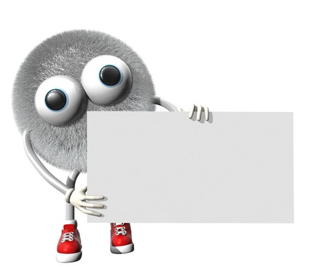 Your monster empty board Stock Photo - 7033816