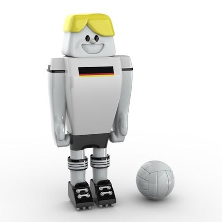 deutschland: 3D Soccer Player - Team Deutschland