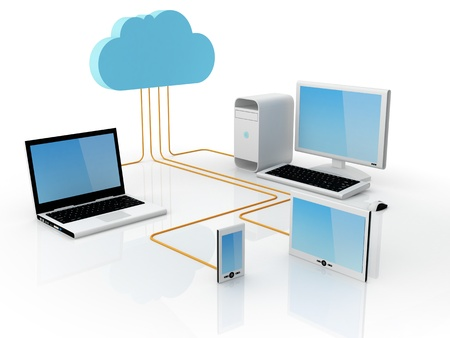 Home Electronic Devices connected to cloud server.Note: All Devices design and all screen interface graphics in this series are designed by the contributor him self.