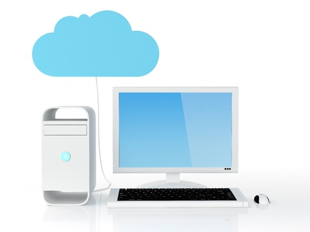 contributor: Desktop pc connected to cloud serverNote: All Devices design and all screen interface graphics in this series are designed by the contributor him self.
