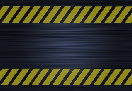 rough road: Grunge hazard stripes texture - Abstract background