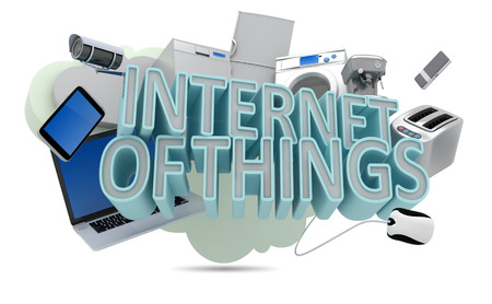 isolated objects: Internet of Things Concept
