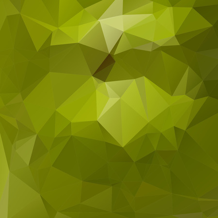 rumpled: Green abstract geometric rumpled triangular low poly style illustration graphic background.