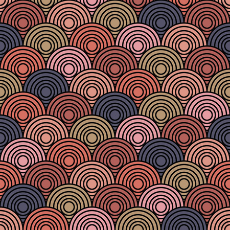 disorient: Overlap Circle Pattern. Stock Photo