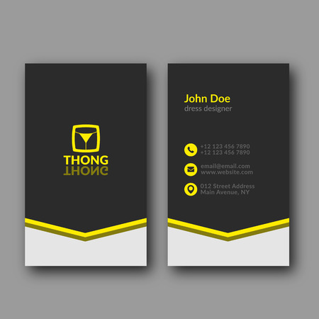 abstract business: Abstract Modern Business Card Template. Vector Illustration.