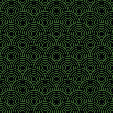 subconscious therapeutic tornado: Overlap Circle Pattern. Editable Vector. Illustration