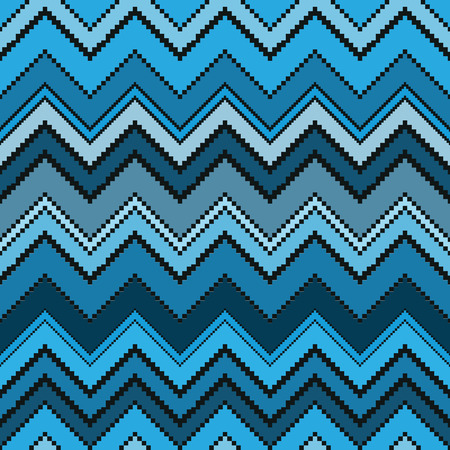 thai silk: Thai pixel textile texture pattern. Illustration