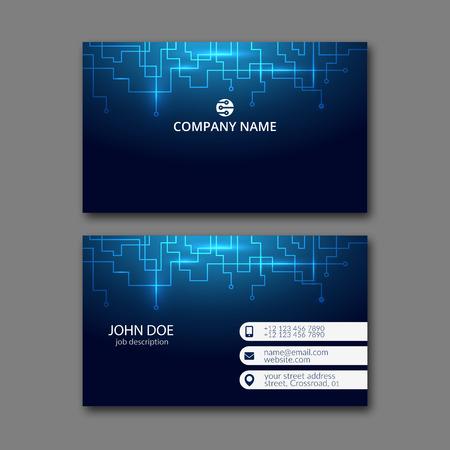 Plantilla elegante de la tarjeta de diseño para el diseño creativo.