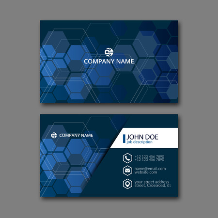 Plantilla elegante de la tarjeta de diseño para el diseño creativo. Ilustración de vector