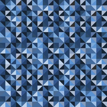 bluish: Vector bluish geometric seamless pattern.