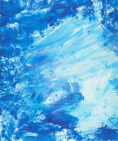 textural: Textural watercolor grunge backdrop with blue paint