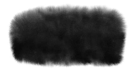 Black watercolor stain with washes, wet edges. Watercolor banner for Black Friday texture, Halloween background,