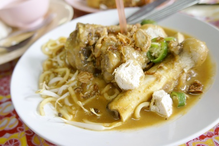 Mee Rebus Tulang, famous dish among Malaysian  photo